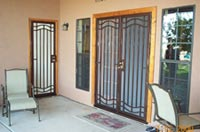 Custom Iron Security Door