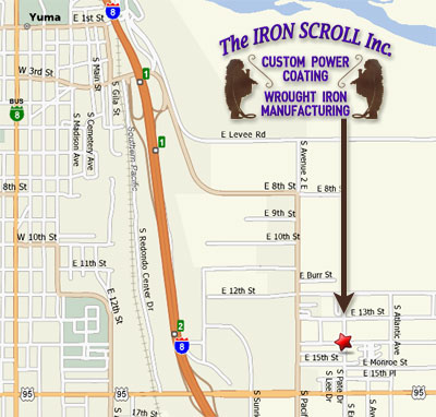 The Iron Scroll Inc. Yuma, Arizona